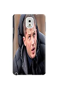 cellphone accessory-phone case cover + fashionable and unique Cool Tom Hardy TPU skin for Samsung Galaxy note3