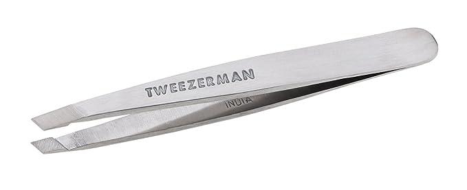 Tweezerman - Mini en bolsa de acero inoxidable pinzas de ...