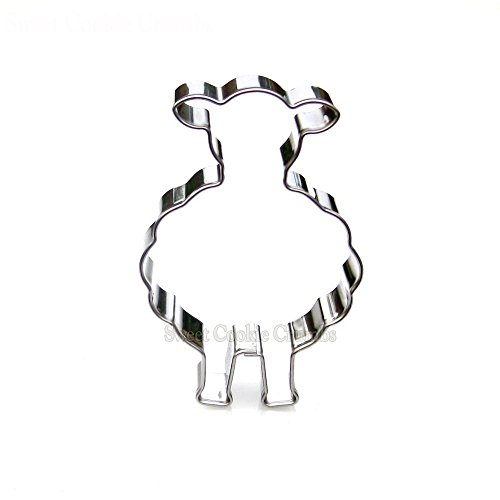 Sheep Cookie Cutter- Stainless Steel -