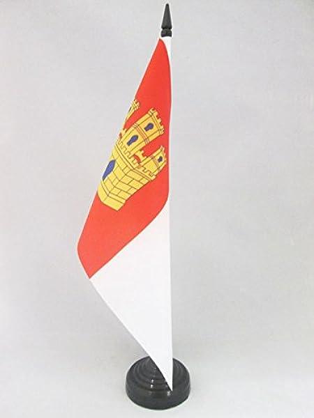 AZ FLAG Bandera de Mesa de Castilla-LA Mancha 21x14cm - BANDERINA ...