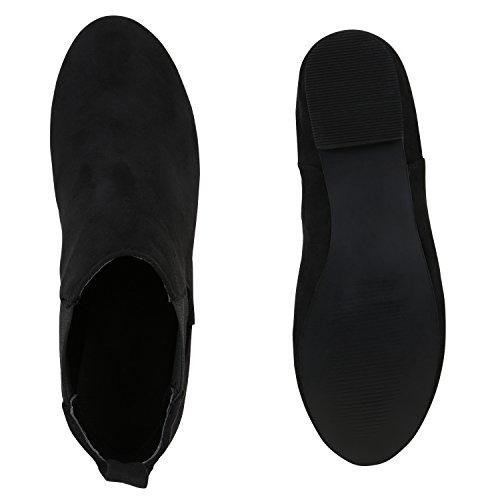 Japado - Botas Chelsea Mujer negro