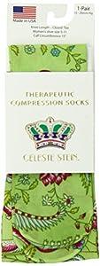 Celeste Stein CMPS2-1304 Therapeutic Compression Socks, 0.6 Ounce