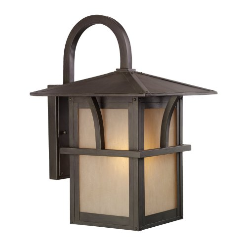 Hammered Glass Outdoor Lighting in US - 3