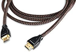 Audioquest Chocolate Braided 1m (3.28 Ft.) Hdmi Cable
