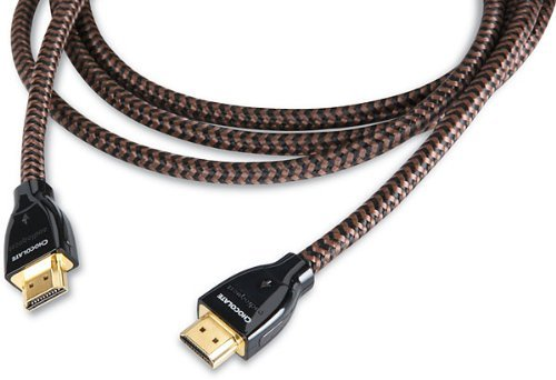 AudioQuest Chocolate High Speed HDMI Cable with Ethernet (6.7 feet/2 meters) by AudioQuest