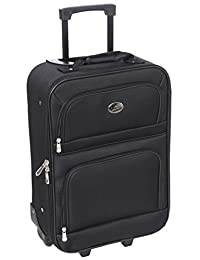 "Jetstream 18"" Carry On Suitcase Black"