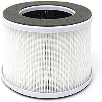 Rumors Es Cierto Reemplazo del Filtro de Aire HEPA Compatible for el hogar iónico purificadores de Aire de Limpieza Pequeño Aire Sistema for el hogar (Color : White, Ships from : China):