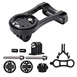 Efanr Extended Out-Front Mount, Bike Computer Out-Front Mount Bicycle Stem Extension Mount Holder for Gopro Garmin Cateye Bryton GPS Computer & Sports Camera