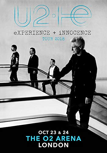 U2 Experience + Innocence 2018 Tour The 02 Arena London for sale  Delivered anywhere in Canada