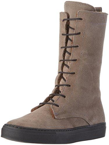 Jonnys Damen Smila Combat Boots Grau (Gris)