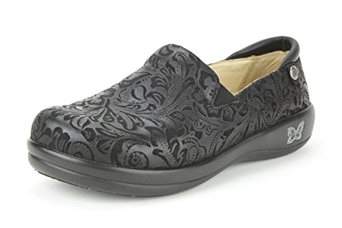 Professional Black Alegria Emboss Keli Shoe Women's YwrqxI8qE