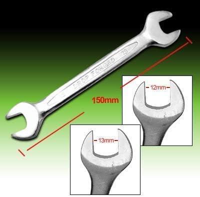 12x13mmのメートルの組合せの開いた端のスパナーは強く、丈夫です