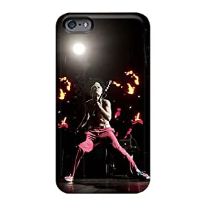 CristinaKlengenberg Iphone 6 Shock Absorbent Hard Phone Cases Custom Fashion Red Hot Chili Peppers Skin [VnE5441EEsi]