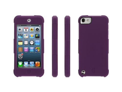 Griffin Survivor Skin for iPod touch , purple - 6-foot drop
