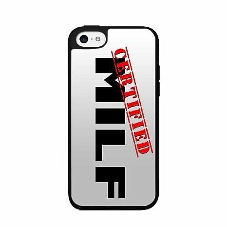 Zertifikat milf- 2 Dual Layer hülle für iPhone 4/4S: Amazon.de ...