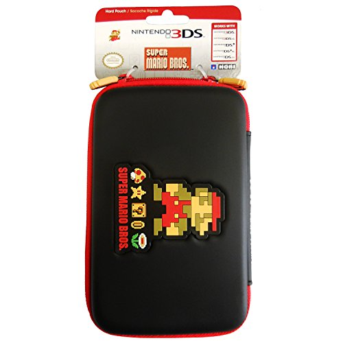 HORI Retro Mario Hard Pouch for NEW 3DS XL and Nintendo 3DS XL (Super Mario Bros 3ds Xl)