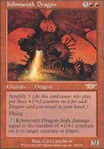 (Magic: the Gathering - Kilnmouth Dragon - Legions - Foil)