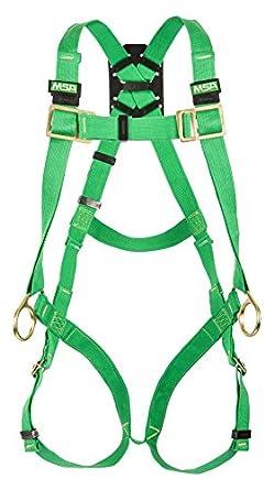 MSA Safety 10020065 THERMATEK soldador de arnés, espalda y la cadera anillas, qwik-