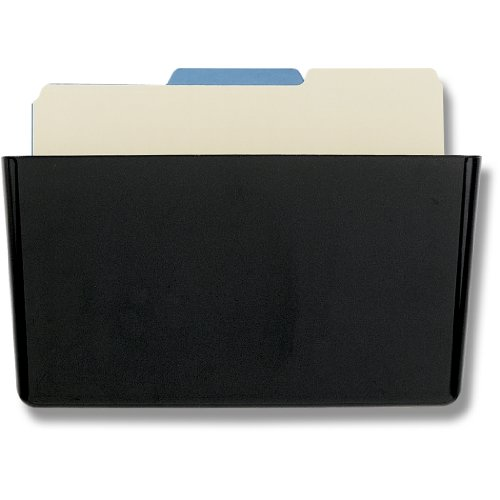 Officemate Wall File Letter Size, Black (Officemate Wall)