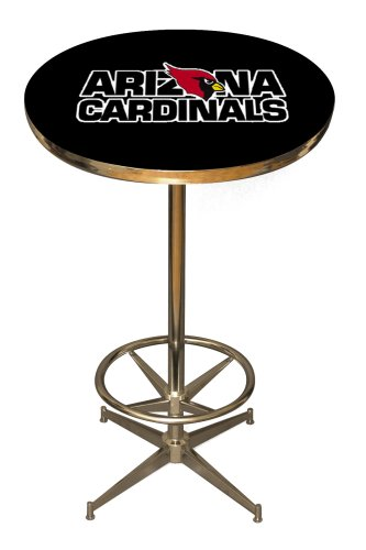 Imperial Officially Licensed NFL Pub Table, Arizona Cardinals