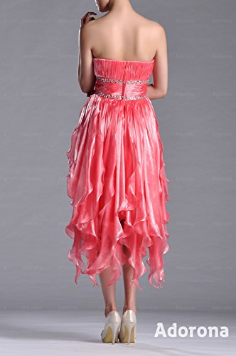 Natrual Bateau Tulle Rose A line Dress Cocktail Strapless Dusty rrqd7B