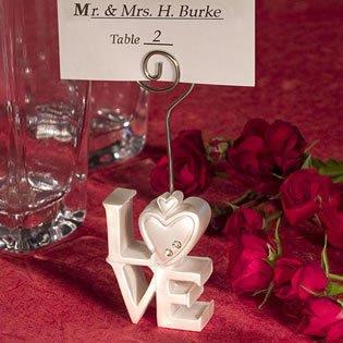 Love Design Place Card Holder Wedding Favors, 200