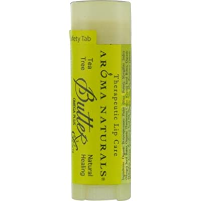 ICED GREEN TEA AROMATHERAPY by TEA TREE OIL NATURAL HEALING THERAPEUTIC LIP BALM .15 OZ for UNISEX ---(Package Of 4)
