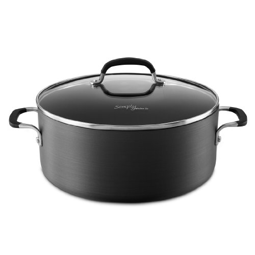 Simply Calphalon - Simply Calphalon Nonstick 7-qt. Dutch Oven & Cover