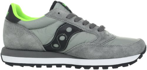 Original Citron Sneakers Jazz Saucony Black Unisex Grey ZnRqBUf5w
