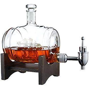 Amazon Com Liquor Decanter Scotch Whiskey Decanter
