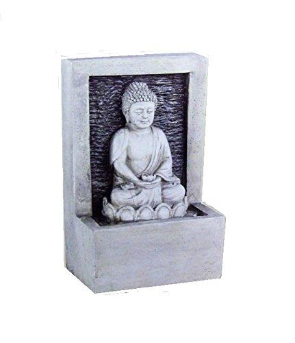 Lumineo Indoor Buddha Water Fountain 24cm Light Decorative Fountain