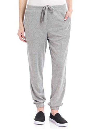 UPC 888172206433, Hue Women's Chill Jersey Sweatpants, Medium Grey Heather, Large
