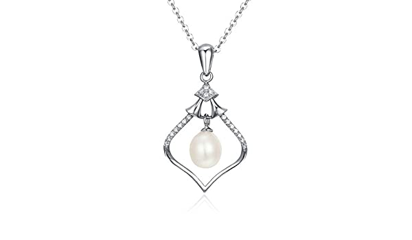 CS-DB Pendants Pearls Mum Lover Fashion Design Silver Necklaces