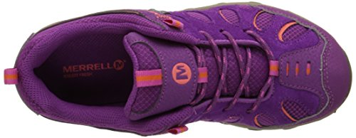 Merrell Cham Low Lace Agua Proof Junior Zapatilla De Trekking - SS16 Morado