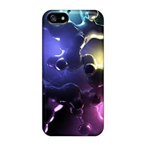 Anti-scratch Case Cover CC WalkingDead Protective Cyber Rainbow Case For iphone 5c