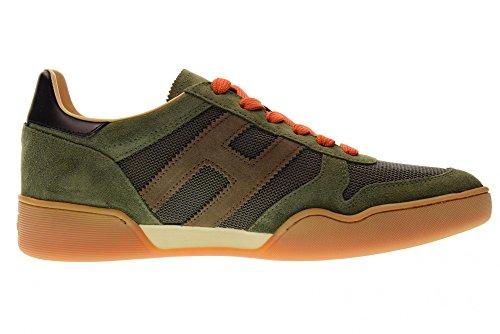 Hogan Scarpe Uomo Sneakers Basse HXM3570AC40IPK931L H357 Verdone Salida Auténtico Barato G4xZu