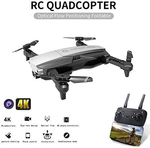 GoolRC H3 RC Drone avec Caméra 4K WiFi FPV Flux Optique Positionnement Geste Photo Quadricoptère Pliable pour Débutant