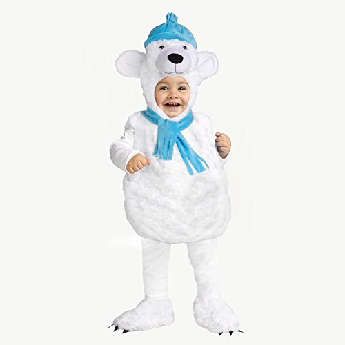 Fun World Polar Bear Costume for (Toddler Polar Bear Costumes)