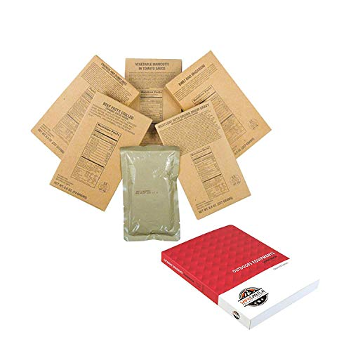 MRE's Meals Ready To Eat Military Emergency Food (MRE ENTREE ONLY Survival Meals -12 Case) ()