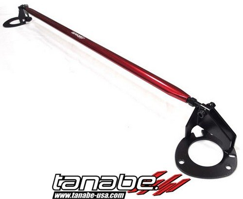 Tanabe TTB154F Sustec Front Tower Bar for 2010-2010 Mazda Mazda 3