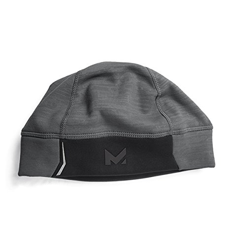 Mission RadiantActive Performance Beanie, Carbon Emboss, One Size