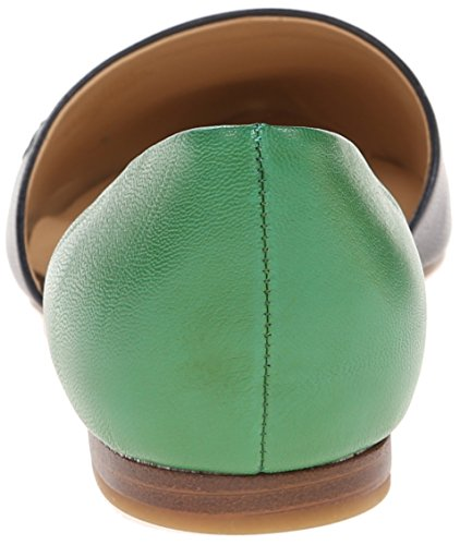 Tommy Hilfiger Frauen Naree 3 Geschlossener Zeh Gleit Sandalen Marine/Emerald Green