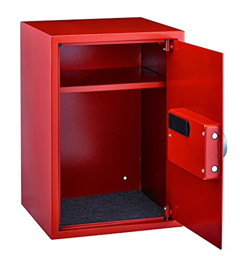 AdirOffice Security Safe with Digital Lock - Red - 2.32 Cubic Feet by Adir Corp. (Image #3)