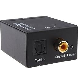 SANOXY Analog to Digital Audio Converter Adapter