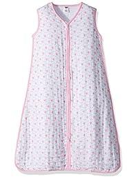 Hudson Baby Unisex-Baby Baby Wearable Safe Sleep Muslin Sleeping Bag