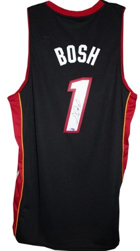 fc602000443 Image Unavailable. Image not available for. Color: Chris Bosh Signed  Steiner Miami Heat Swingman Jersey-Replica