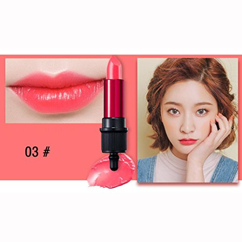 Matte Lipstick,Moisturizing Lip Gloss, D-XinXin Beauty Waterproof Long Lasting Lip Pencil Matte Lipstick Lip Gloss Makeup Tool (C)