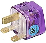 UK 13A double outlet travel adapter