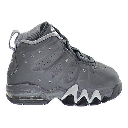 Nike Air Max Barkley (TD) Toddler's Shoes Dark Grey/White/Wolf Grey 488247-002 (5 M US)