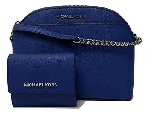 fb5da1973122 Bundle of 2 items: MICHAEL Michael Kors Emmy MD Crossbody bundle with Michael  Kors Jet Set Travel Card Case ID Key Holder Wallet ...